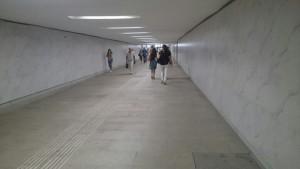 Подземный переход в ЮАО после ремонта