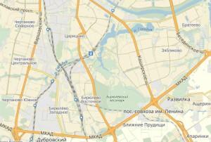 Пользователи Интернета помогли детализировать карту Южного округа