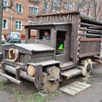 Двор на Партизанской