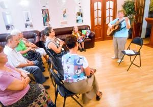 Клиенты центра социального обслуживания Даниловского района