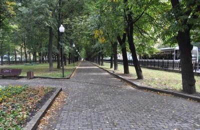Сквер на Серпуховском Валу