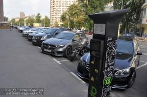 Зона платной парковки в Даниловском районе