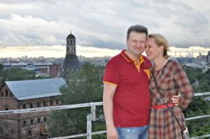 Влюбленная пара на крыше ЗИЛа