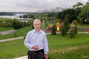 Мэр Москвы Сергей Собянин рассказал о благоустройстве Краснопресненской набережной