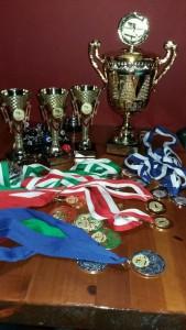 Награды учеников школы бильярда