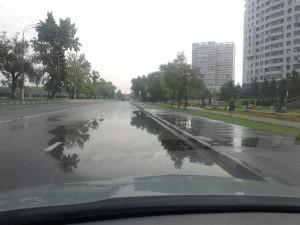 В районе Даниловский устранили подтопление