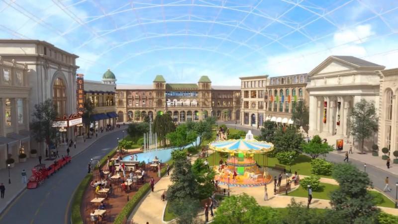 Началось основное строительство парка «Остров мечты» вНагатинской пойме