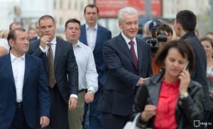 """Собянин: Благоустройство Таганки - один из крупнейших проектов """"Моей улицы"""""""