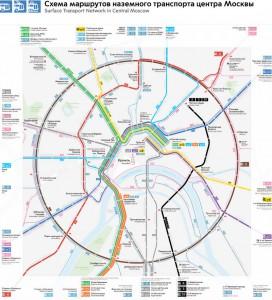 В Москве заработала новая сеть маршрутов наземного транспорта «Магистраль»