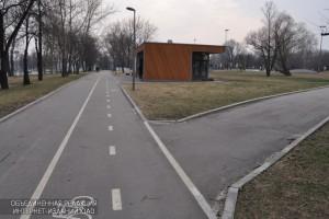 Одна из станций велопроката в ЮАО