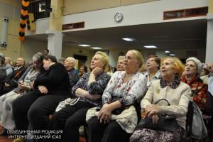"""Актеры театра """"Трех муз"""" выступят на вечере в честь Дня пожилого человека в библиотеке №163"""