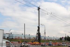 Строительство участка Южной рокады