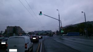 Светофор на улице Большая Тульская