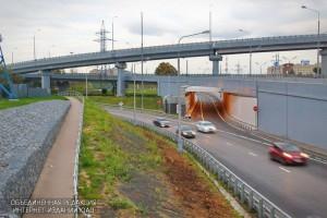 Транспортная развязка в ЮАО на пересечении с МКАД