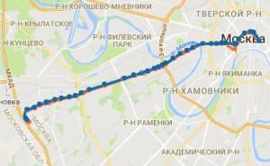 Маршрут автобуса №H2