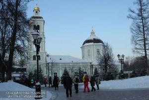 "Храм в музее-заповеднике ""Царицыно"""