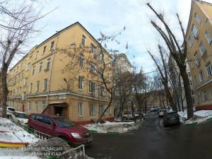 Двор в Даниловском районе