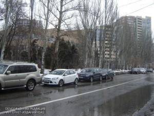 Платная парковка в ЮАО