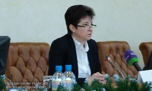 Заместитель руководителя Департамента труда и социальной защиты населения Москвы Татьяна Полякова