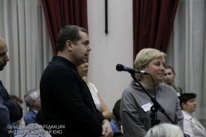 Жители ЮАО на встрече с префектом Алексеем Челышевым