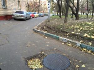 Двор по адресу: улица Симоновский вал, дом 20, корпус 1