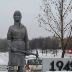 Памятник женщинам — героям обороны Москвы