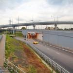 Новая развязка МКАД с Каширским шоссе