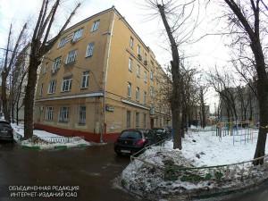 Один из дворов в Даниловском районе