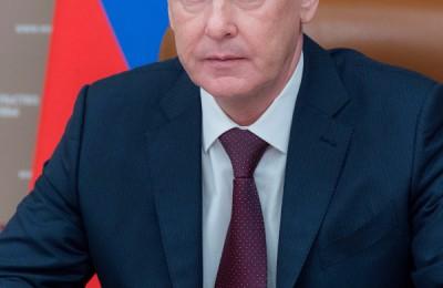Мэр Москвы Москвы Сергей Собянин