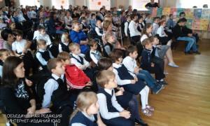 Юные жители Даниловского района