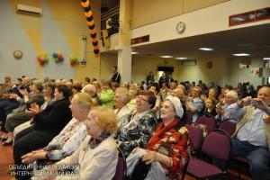 Жители Даниловского района на праздновании Дня Победы