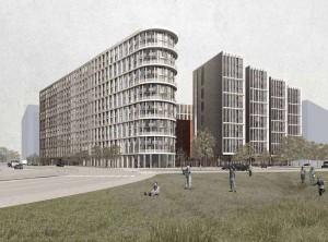 Проект жилого комплекса В Даниловском районе