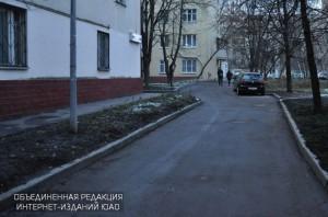 Проезды в районе улицы Шухова в Даниловском районе