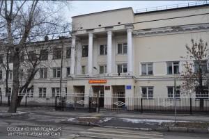 Школа № 600 в Даниловском районе