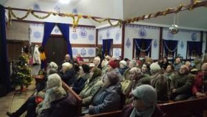 Ветераны Великой Отечественной войны и Труженики тыла на встрече в храме Живоначальной Троицы в Старых Черемушках