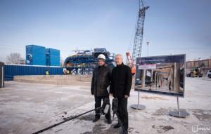 На Кожуховской ветке впервые в Москве идет прокладка двухпутного тоннеля - Собянин