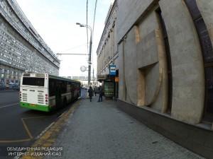 Автобус в Даниловском районе
