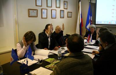 Очередное заседание Совета депутатов в Даниловском районе