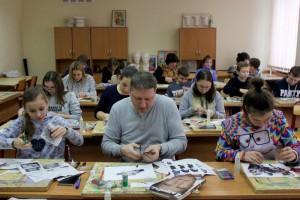 """Участники """"Арт-субботы"""" в техникуме имени Красина"""
