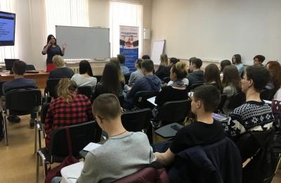 Семинар по бизнес планированию в техникуме имени Красина