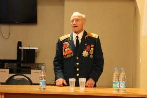 """Ветеран ВОВ на мероприятии """"Прививка от фашизма"""""""