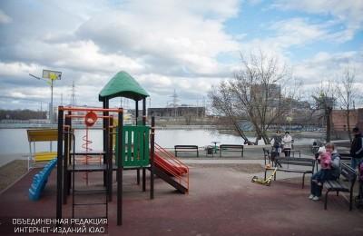 Детская площадка в Даниловском районе