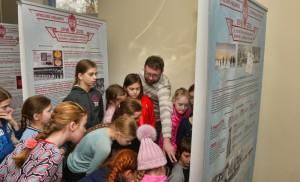 """Экспозиция Музея Хоккея в ледовом комплексе """"АСК"""" в Санкт-Петербурге"""