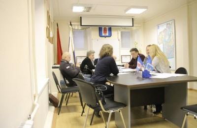 Очередное заседание Совета депутатов муниципального округа Даниловский