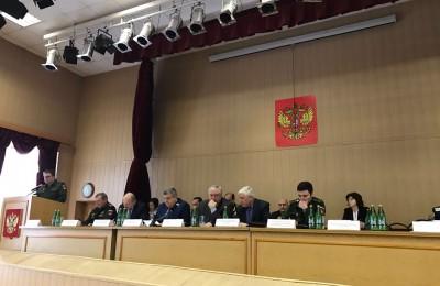 Совещание Военного комиссариата Москвы