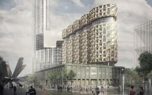 20-этажный жилой комплекс