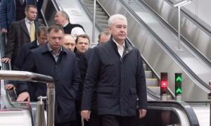 На Калининско-Солнцевской линии метро Сергей Собянин открыл три новые станции