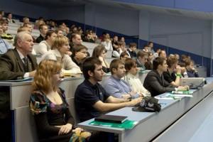 Студенты Московского Политеха во время мероприятия