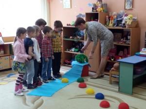 Воспитанники дошкольного отделения центра образования «Лукоморье»