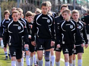 Воспитанники футбольной школы Торпедо